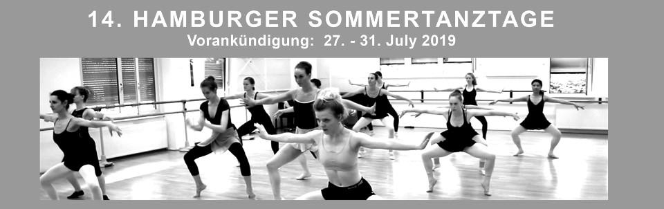 13. Hamburger Sommertanztage 2018