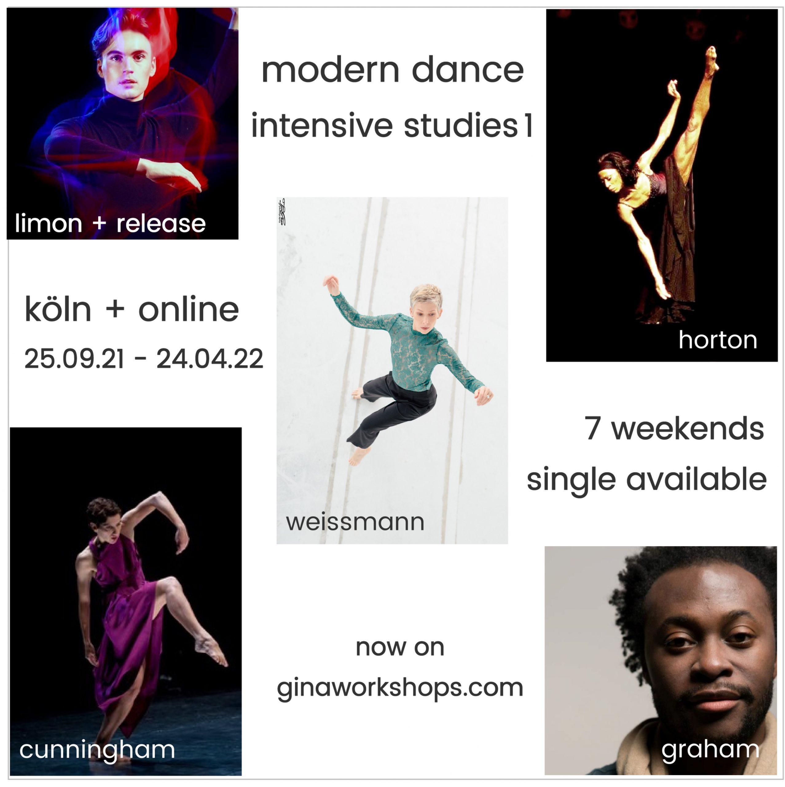 Weiterbildung Modern Dance - Intensive Studies